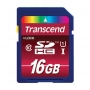 Карта памяти SD 16Gb Transcend SDHC Class 10 UHS-I Ultimate