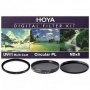 Набор фильтров Hoya 37 mm KIT: UV (C) HMC MULTI, PL-CIR, NDX8