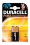 Батарейка 6LR61 DURACELL PLUS крона 1 шт.