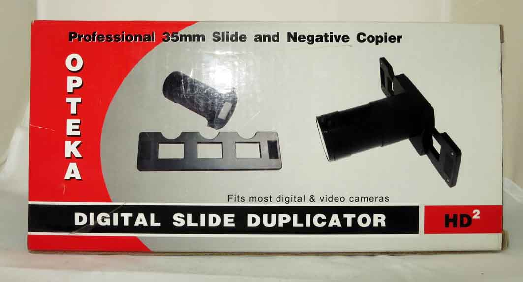 Устройство для пересъёмки слайдов фотоаппаратом б/у