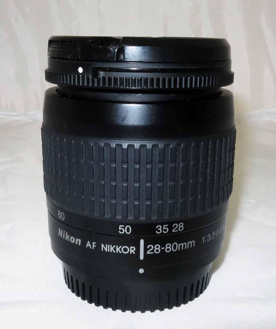 Объектив Nikon Nikkor AF 28-80 mm f/3,3-5,6 G б/у