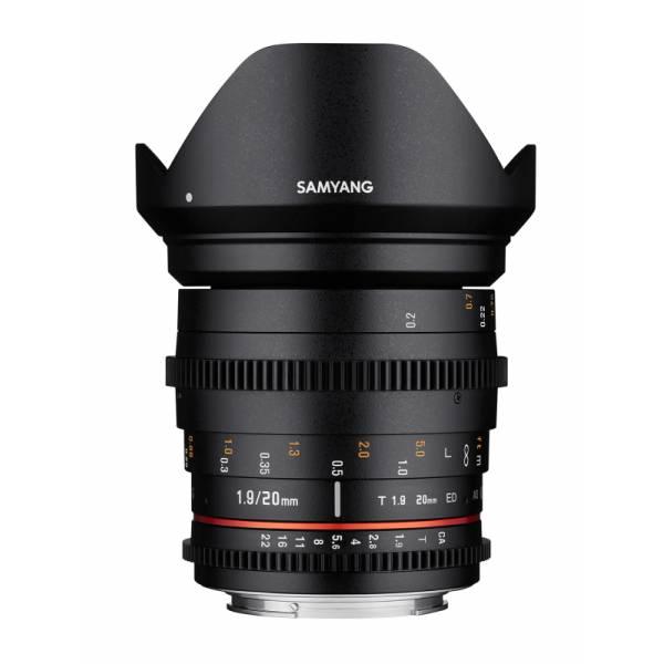 Объектив Samyang Nikon 20mm T1.9 ED AS UMC VDSLR
