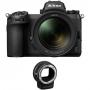 Фотоаппарат Nikon Z7 II kit 24-70 + FTZ Adapter