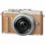Фотоаппарат Olympus PEN E-PL9 kit 14-42 EZ Pancake коричневый