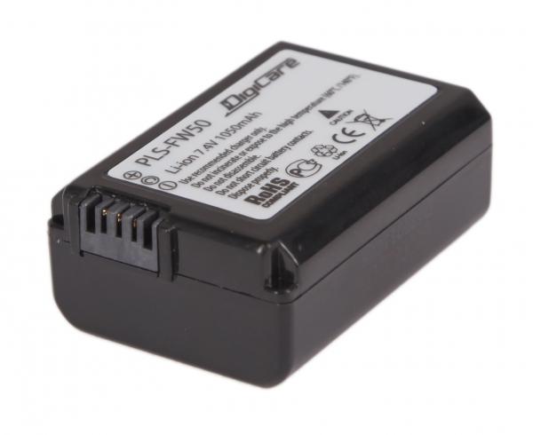 Аккумулятор DigiCare PLS-FW50 / NP-FW50 для NEX-7/6/5R/3N/F3, SLT-A37
