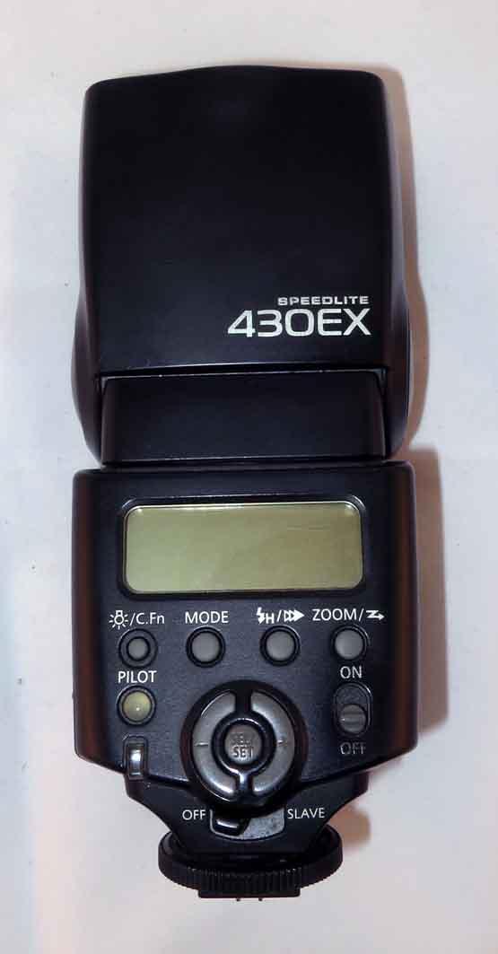 Вспышка Canon SpeedLite 430EX б/у