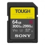 Карта памяти SD 64Gb Sony SDXC UHS-II V90 U3 TOUGH 300/299 MB/s