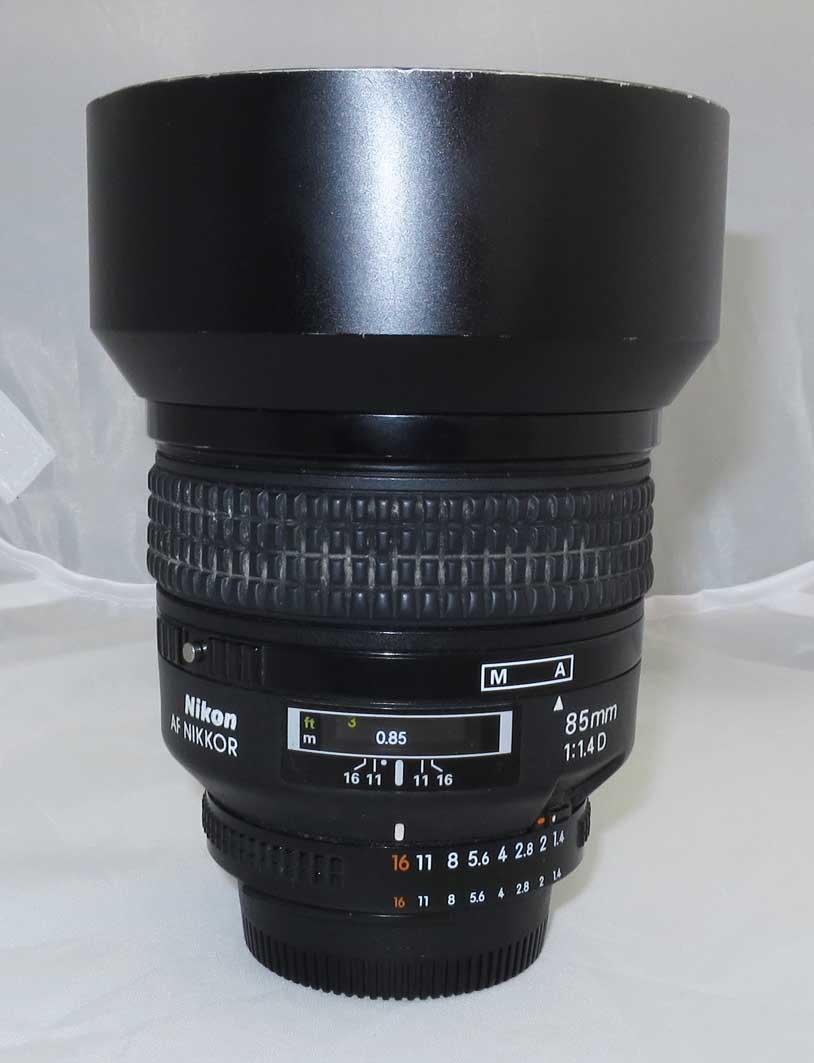 Объектив Nikon Nikkor AF 85 mm f/1.4D б/у
