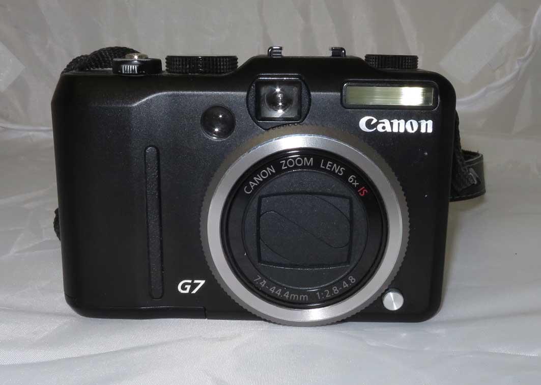 Фотоаппарат Canon PowerShot G7 б/у