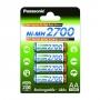 Аккумулятор Panasonic AA 2700 4BP BK-3HGAE/4BE 2700mAh 4 шт (82734)