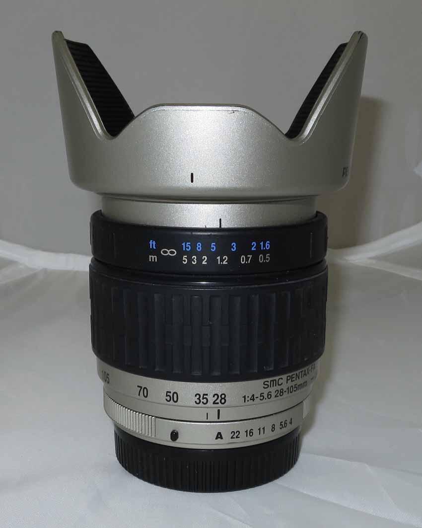 Объектив Pentax SMC FA 28-105 F 4-5.6 б/у