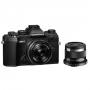 Фотоаппарат Olympus OM-D E-M5 mark III kit 17mm F1.8 + 45mm F1.8 черн