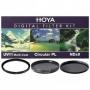 Набор фильтров Hoya 49 mm KIT: UV (C) HMC MULTI, PL-CIR, NDX8 84165