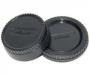 Комплект крышек для Nikon JJC задняя обьектива+крышка байонета камеры