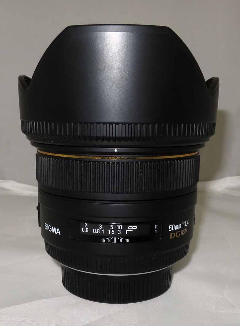 Объектив Sigma AF 50 mm f/1.4 EX DG HSM для Nikon б/у