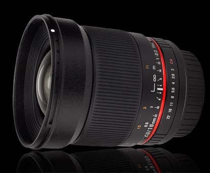 Объектив Samyang Canon EF 16 mm f/2.0 ED AS UMC CS