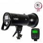 Импульсный осветитель Lumifor VELO LV-500 500Дж с аккум-ом + радиосин