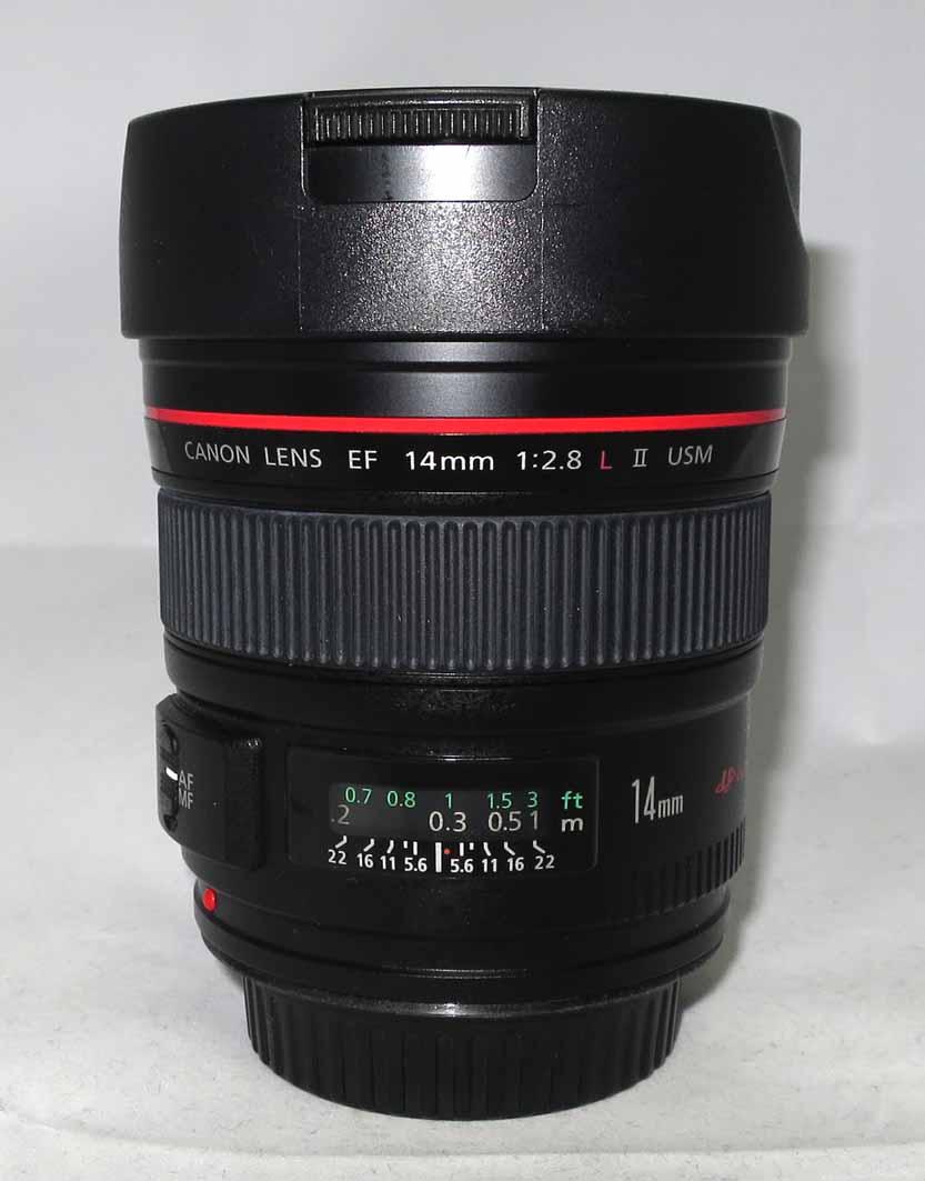 Объектив Canon EF 14 f/2,8L II USM б/y