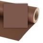 Фон бумажный Colorama 1.35х11м 580 PEAT BROWN