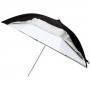 Зонт Falcon Eyes 122 см URK-60TSB1 серебр/просв/отражен. белый 14603
