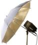 Зонт Falcon Eyes 70см URN-32GW золотистый / белый