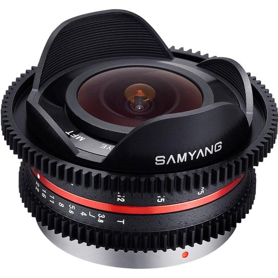 Объектив Samyang Micro 4/3 7.5mm T3.8 Fish-eye VDSLR
