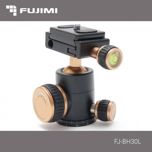 Штативная головка Fujim FJ-BH30L шаровая (съёмная рукоятка) Нагр. 6 к