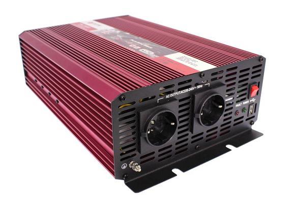 Автоинвертор AcmePower AP-PS1500/24 1500W вход DC 21-30В выход 220В /