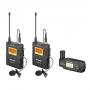 Микрофонная радиосистема Saramonic UwMic9 TX9+TX9+RX-XLR9 радиопетлич