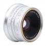 Объектив 7Artisans (Micro 4/3) 25mm f/1.8 серебро