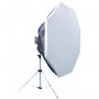 Октобокс Falcon Eyes FEA-OB6 BW 60 cm для импульсных приборов