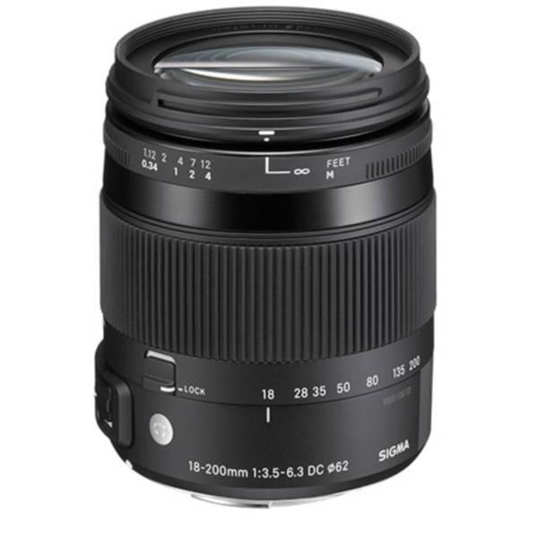 Объектив Sigma (Canon) 18-200mm f/3.5-6.3 DC MACRO OS HSM Contemporar