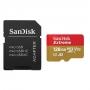 Карта памяти micro SDXC 128Gb Sandisk Extreme UHS-I U3 V30 A2 + ADP