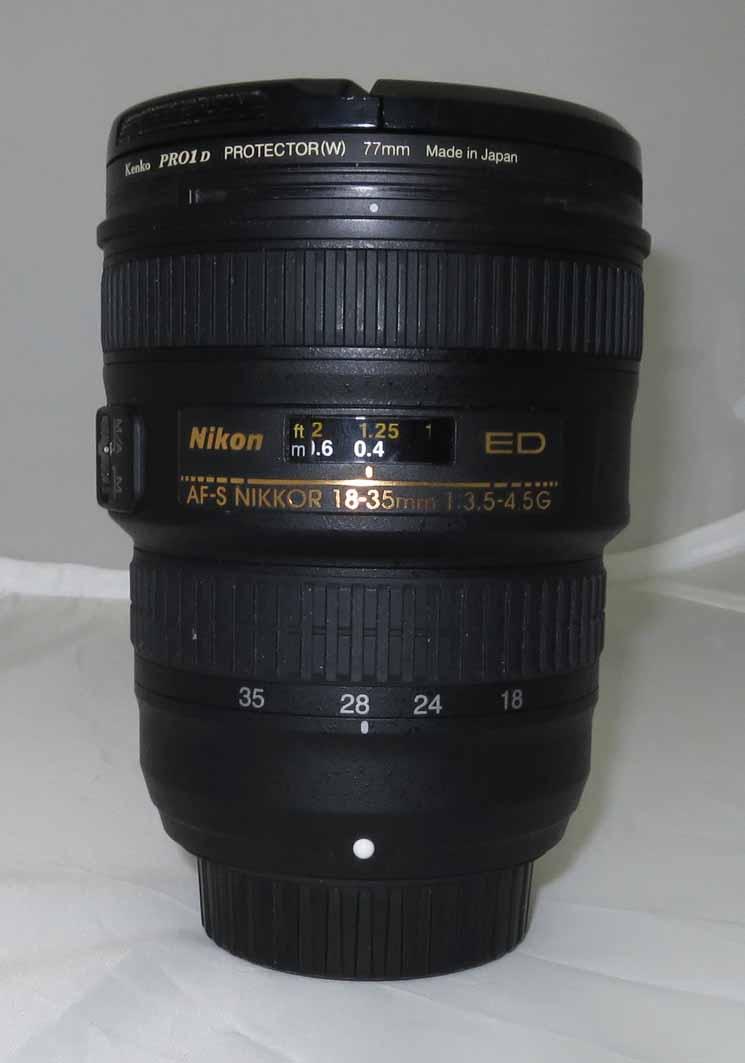 Объектив Nikon Nikkor AF-S 18-35 mm f/3.5-4.5G ED б/у
