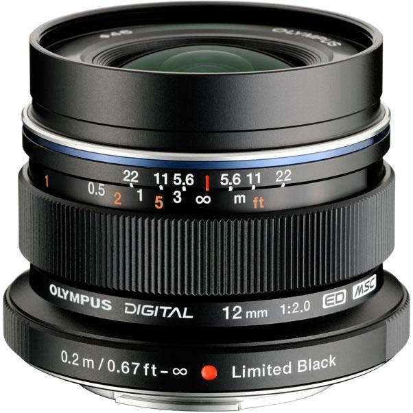 Объектив Olympus M.Zuiko Digital ED 12 мм f/2.0