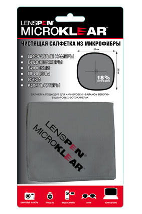 Салфетка для оптики MicroKlear MK-1 микрофибра