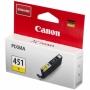 Картридж Canon CLI-451Y жёлтый