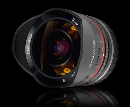 Объектив Samyang Fuji X 8mm f/2.8 AS IF UMC Fish-eye
