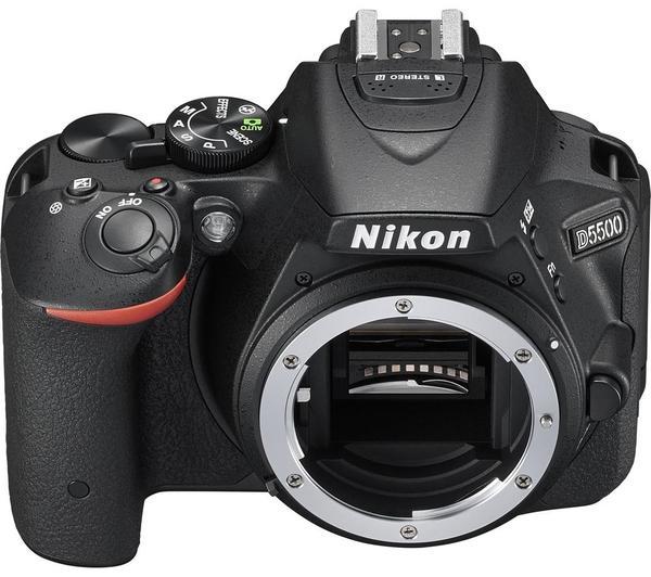 Фотоаппарат Nikon D5500 Body черный