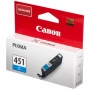 Картридж Canon CLI-451С синий