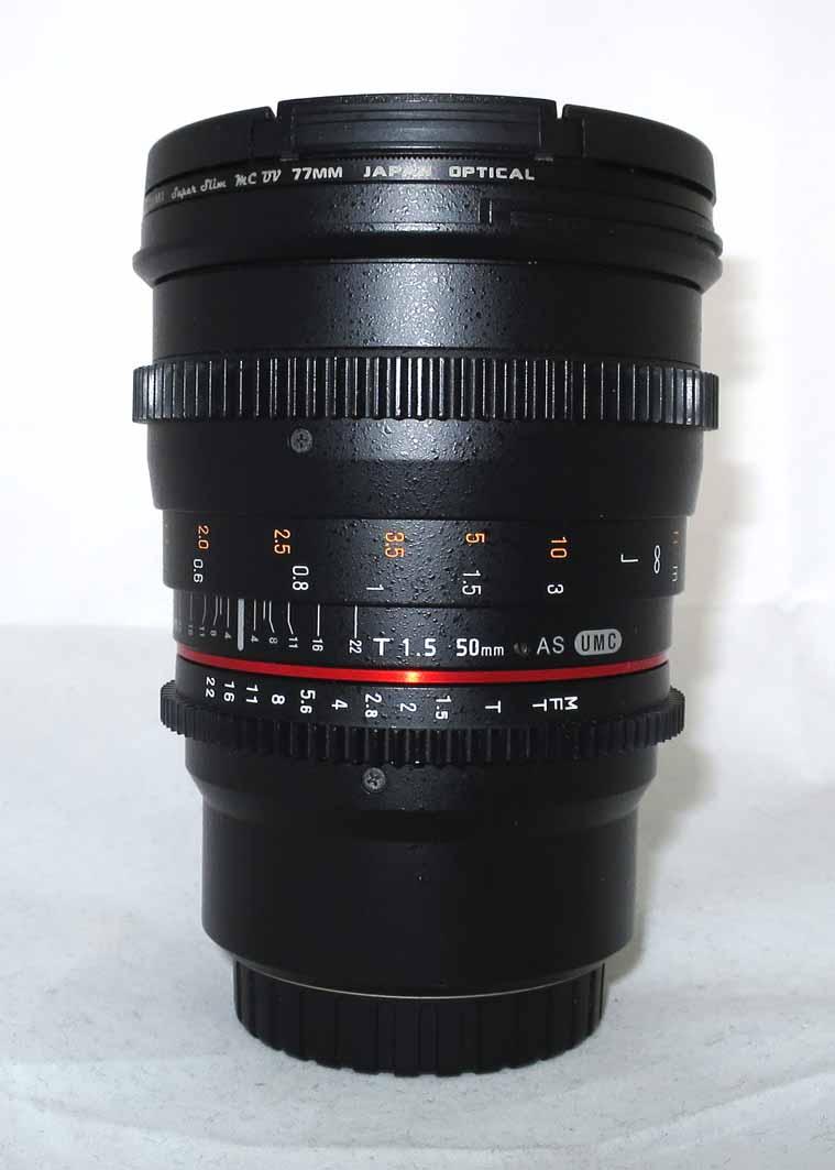 Объектив Samyang Micro 4/3 MF 50mm T1.5 AS UMC б/у