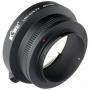 Переходное кольцо KIWIFOTOS LMA-EOS_FX (Canon EF- FUJIFILM X)