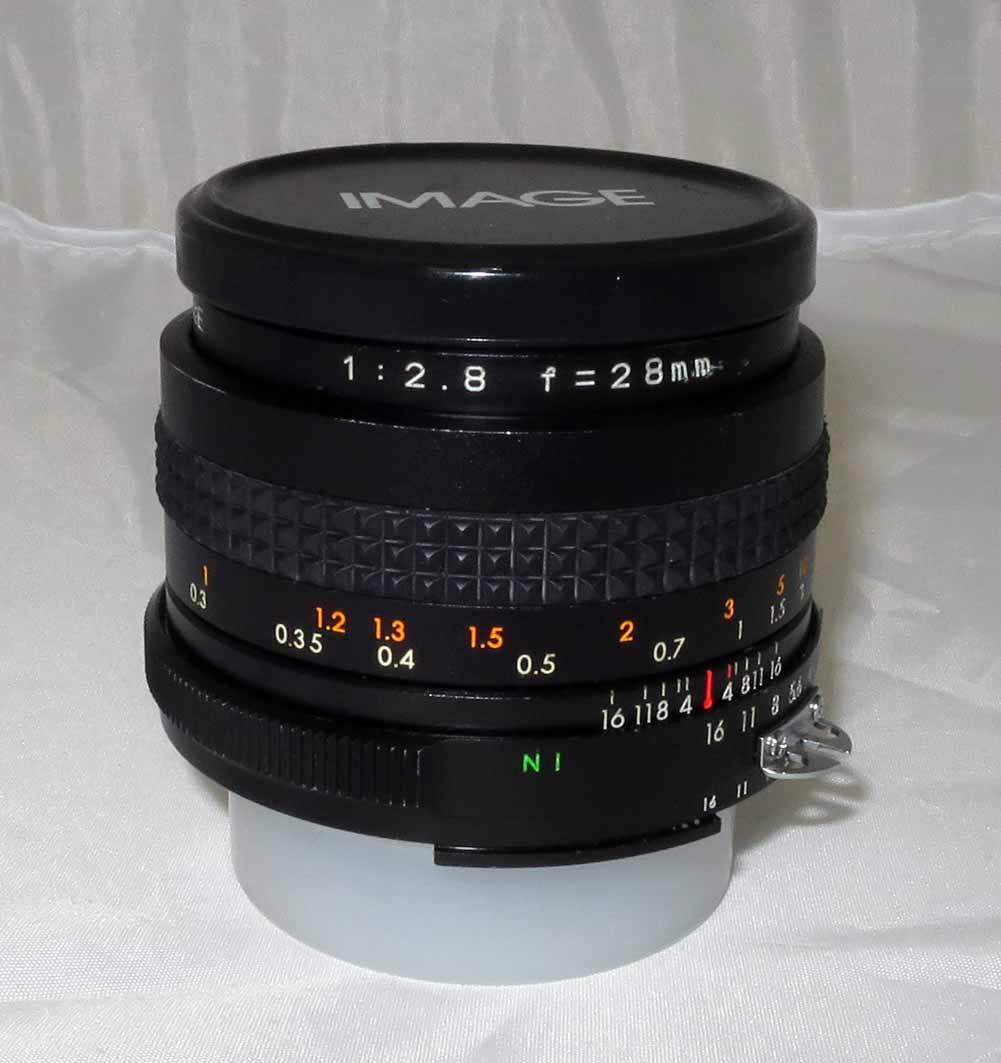 Объектив AUTO IMAGE 28 mm f/2,8 (nikon) б/у