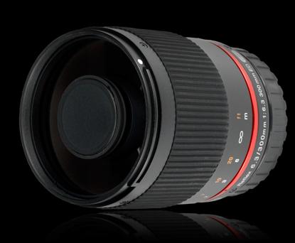 Объектив Samyang Fujifilm 300 mm f/6.3 Reflex/Mirror для Fuji X