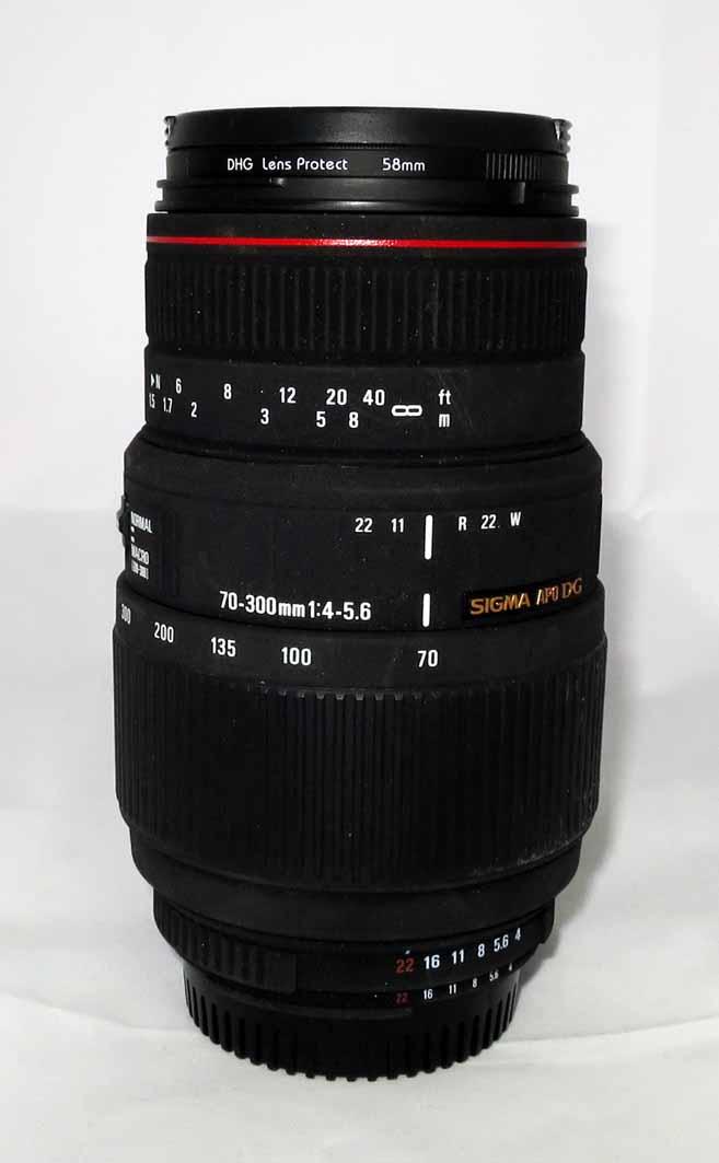 Объектив Sigma 70-300 F4-5.6 APO DG MACRO для Nikon б/у