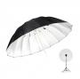 Зонт Godox UB-L3 150cm серебро/черный на отражение 27925