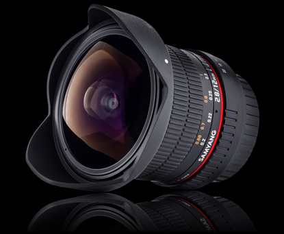Объектив Samyang Sony E-mount 12mm f/2.8 ED AS NCS Fish-eye