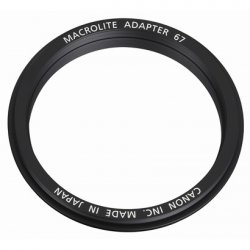 Адаптер Canon MacroLite Adapter 67C для кольцевой вспышки