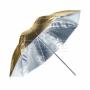 Зонт Falcon Eyes 70 см URN-32GS отражение серебро/золото