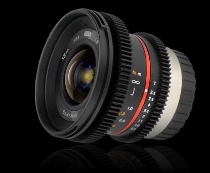 Объектив Samyang Fuji X 12mm T2.2 NCS CS Cine